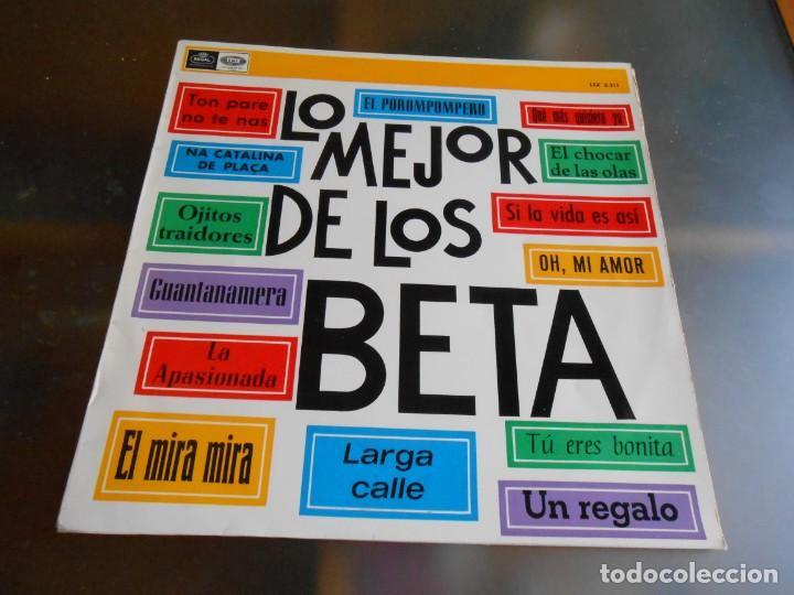 BETA, LOS - LO MEJOR -, LP, EL POROMPOMPERO + 13, AÑO 1967 (Música - Discos - LP Vinilo - Grupos Españoles 50 y 60)