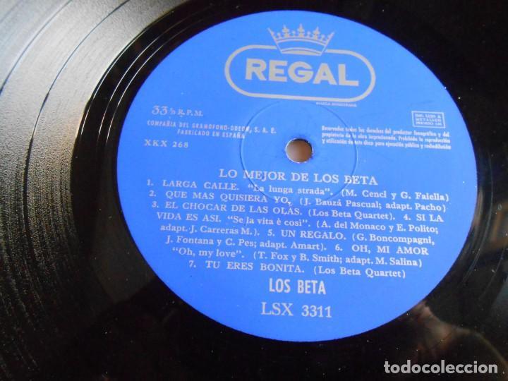 Discos de vinilo: BETA, LOS - LO MEJOR -, LP, EL POROMPOMPERO + 13, AÑO 1967 - Foto 3 - 276744248