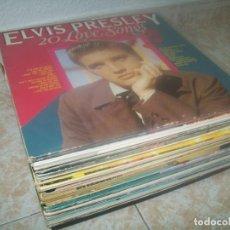 Disques de vinyle: LOTE DE 50 LP´S DE TODOS LOS ESTILOS, - U2, MICHAEL JACKSON., MEGAMIXES, ELVIS PRESLEY ,STIX..ETC. Lote 276747763