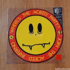 Discos de vinilo: ACID HOUSE PICTURE DISC. Lote 276748623