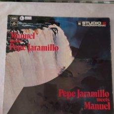 Discos de vinilo: 48178 - MANUEL MEETS - PEPE JARAMILLO - THE MUSIC OF THE MOUNTAINS. Lote 276770058