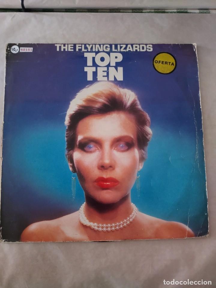 48181 - THE FLYING LIZARDS - TOP TEN - AÑO 1984 (Música - Discos - LP Vinilo - Pop - Rock - New Wave Internacional de los 80)