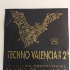 Discos de vinil: TECHNO VALENCIA VOLUMEN 2.. Lote 276774378