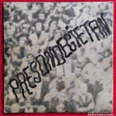 """Discos de vinilo: GUK -PRESONDEGIETAN / AMERIKANO BELTZAK 7"""" 1972? FOLK VASCO -AUTOEDITADO -MUY RARO. Lote 276777418"""