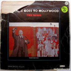 Discos de vinilo: FRANKIE GOES TO HOLLYWOOD - TWO TRIBES - MAXI ISLAND RECORDS 1984 BPY. Lote 276779798