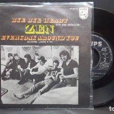 Discos de vinilo: ZEN BYE BYE HEART SINGLE SPAIN 1969 PEPETO TOP. Lote 276780898