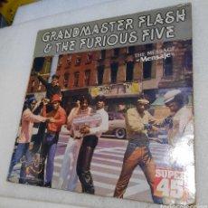 Discos de vinilo: THE GRANDMASTER FLASH & THE FURIOUS FIVE - TBE MESSAGE. Lote 276782578