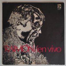 Discos de vinilo: RAIMON - EN VIVO LP 1972 ARGENTINA - DISCOGRAFICA - AMERICA VIVA - MUY RARO. Lote 276784393