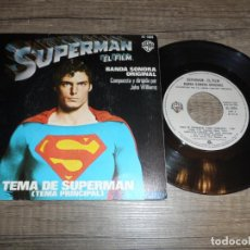 Discos de vinil: TEMA DE SUPERMAN - JOHN WILLIAMS. Lote 276785213