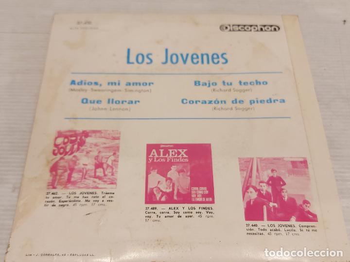 Discos de vinilo: LOS JOVENES / ADIOS, MI AMOR + 3 / EP - DISCOPHON-1965 / MBC. ***/*** - Foto 2 - 276786023