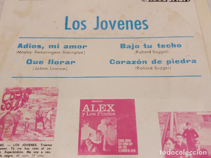 Discos de vinilo: LOS JOVENES / ADIOS, MI AMOR + 3 / EP - DISCOPHON-1965 / MBC. ***/*** - Foto 3 - 276786023