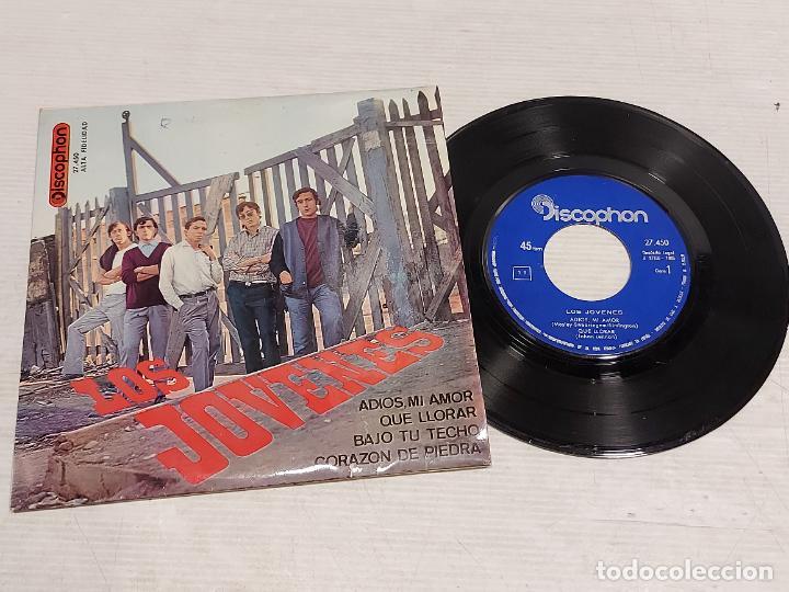LOS JOVENES / ADIOS, MI AMOR + 3 / EP - DISCOPHON-1965 / MBC. ***/*** (Música - Discos de Vinilo - EPs - Grupos Españoles 50 y 60)