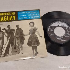 Discos de vinilo: LOS COMUNEROS DEL PARAGUAY / RECUERDOS DE YPACARAI + 3 / EP-FONTANA-1965 / MBC. ***/***. Lote 276787728