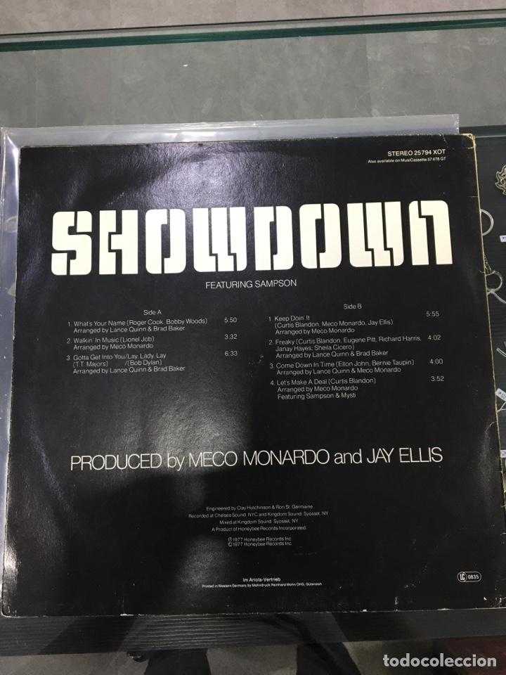 Discos de vinilo: Showdown featuring sampson - Foto 2 - 276789473