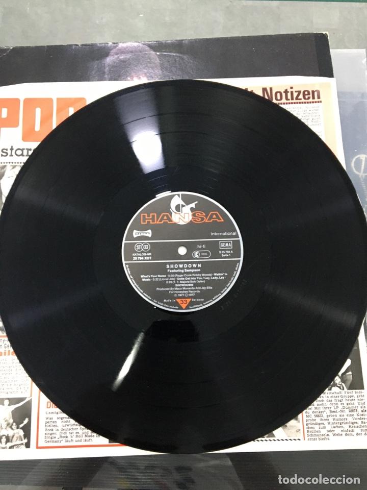 Discos de vinilo: Showdown featuring sampson - Foto 4 - 276789473
