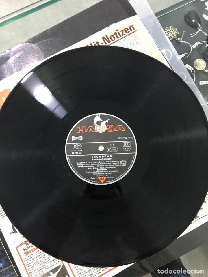 Discos de vinilo: Showdown featuring sampson - Foto 5 - 276789473