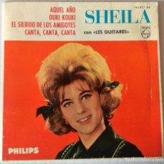Discos de vinilo: SHEILA - AQUEL AÑO + 3 TEMAS EP PHILIPS - 1963. Lote 276795883