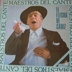 Discos de vinilo: EL FLECHA DE JEREZ LP SELLO HISPAVOX EDITADO EN ESPAÑA AÑO 1987. Lote 276796278