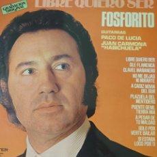 Discos de vinilo: FOSFORITO LP SELLO BELTER EDITADO EN ESPAÑA AÑO 1978.... Lote 276797893