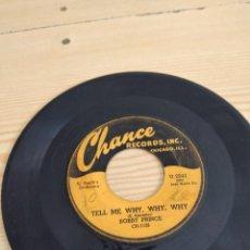 Disques de vinyle: BAL-4 DISCO CHICO 7 PULGADAS MUSICA SOLO DISCO BOBBY PRINCE TELL ME WHY. Lote 276801323