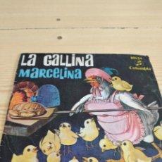 Dischi in vinile: BAL-4 DISCO CHICO 7 PULGADAS MUSICA LA GALLINA MARCELINA. Lote 276802378