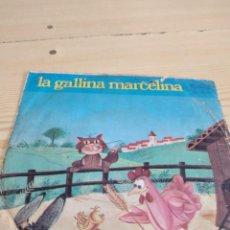 Dischi in vinile: BAL-4 DISCO CHICO 7 PULGADAS MUSICA LA GALLINA MARCELINA. Lote 276802438