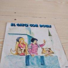 Dischi in vinile: BAL-4 DISCO CHICO 7 PULGADAS MUSICA EL GATO CON BOTAS. Lote 276802978