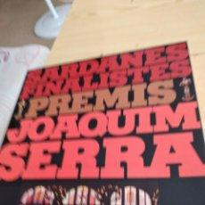 Discos de vinilo: BAL-4 DISCO GRANDE 12 PULGADAS MUSICA SARDANES FINALISTES PREMIS JOAQUIM SERRA LP 1976 MEDITERRANEO. Lote 276803518