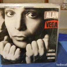 Disques de vinyle: LP ALAN VEGA DE SUICIDE JUST A MILLION DREAMS 1985 BUEN ESTADO. Lote 276817283