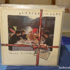 Disques de vinyle: LP ALEGRE POP OCHENTERO ALTERED IMAGES HAPPY BIRTHDAY 1981 BUEN ESTADO. Lote 276817628