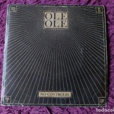 """Disques de vinyle: OLE OLE – NO CONTROLES, VINYL 7"""" SINGLE SIDED 1983 SPAIN PROMO. Lote 276907158"""
