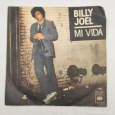 """Discos de vinilo: VINILO DE 7 PULGADAS DE BILLY JOEL QUE CONTIENE """"MY LIFE"""" Y """"52ND STREET"""". DISCOGRÁFICA: CBS.. Lote 276909453"""