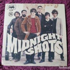 "Discos de vinilo: MIDNIGHT SHOTS – HERE COME THE BOMBS!, VINYL 7"" EP 2012 SPAIN DJ-004. Lote 276909853"