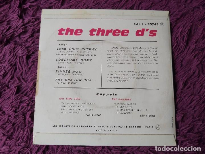 "Discos de vinilo: The Three Ds – Chim Chim Chir-ee, Vinyl 7"" EP France EAP 1-20743 - Foto 2 - 276911363"