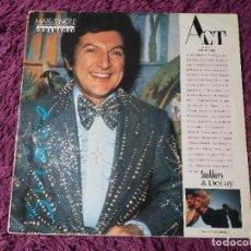Discos de vinilo: ACT – SNOBBERY & DECAY ,VINYL MAXI-SINGLE 1987 SPAIN 3A 609105. Lote 276914588