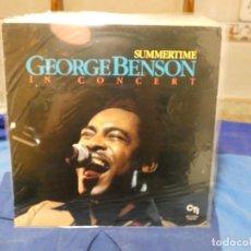 Disques de vinyle: LP GEORGE BENSON SUMMERTIME ESPAÑA 1982 VINILO MUY BUEN ESTADO. Lote 276921828