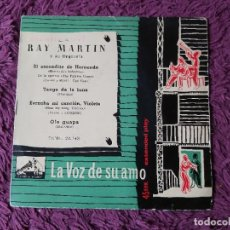 """Discos de vinilo: RAY MARTIN Y SU ORQUESTA – EL ESCONDITE DE HERNANDO ,VINYL 7"""" EP SPAIN 1958 7EML 28.143. Lote 276926928"""