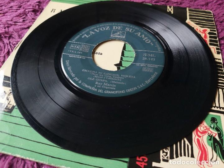 """Discos de vinilo: Ray Martin y Su Orquesta – El Escondite De Hernando ,Vinyl 7"""" EP Spain 1958 7EML 28.143 - Foto 4 - 276926928"""