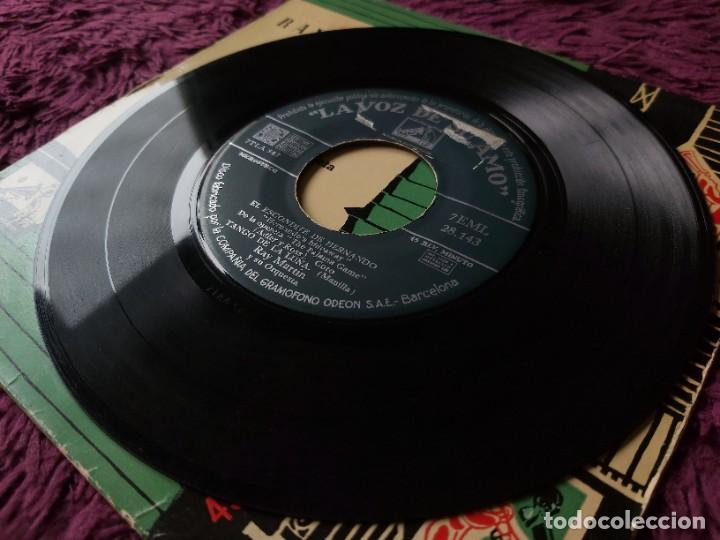 """Discos de vinilo: Ray Martin y Su Orquesta – El Escondite De Hernando ,Vinyl 7"""" EP Spain 1958 7EML 28.143 - Foto 6 - 276926928"""