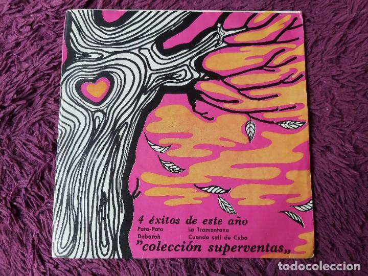"""4 ÉXITOS DE ESTE AÑO ,VINYL 7"""" EP 1968 SPAIN 5.004 PROMO (Música - Discos de Vinilo - EPs - Solistas Españoles de los 50 y 60)"""