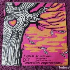 """Discos de vinilo: 4 ÉXITOS DE ESTE AÑO ,VINYL 7"""" EP 1968 SPAIN 5.004 PROMO. Lote 276935458"""