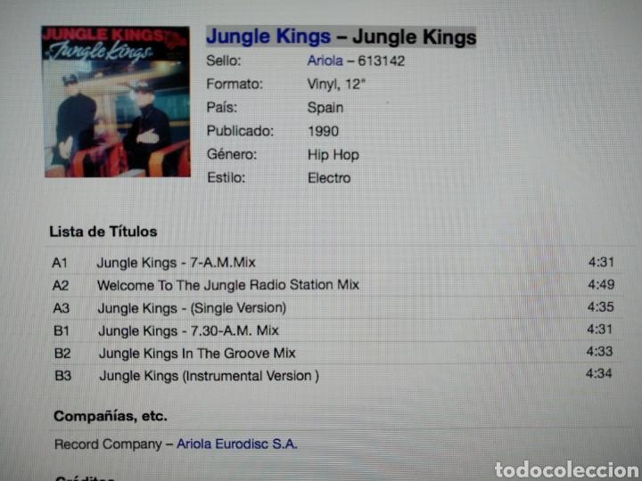 Discos de vinilo: Jungle kings - Jungle kings - Foto 2 - 276937813