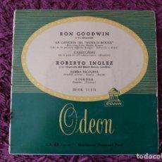 """Discos de vinilo: RON GOODWIN Y SU ORQUESTA - """"MOULIN ROUGE"""" ,VINYL 7"""" EP SPAIN MSOE 31.011. Lote 276939928"""