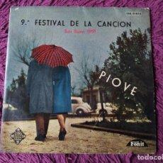 """Discos de vinilo: FESTIVAL DE LA CANCIÓN - SAN REMO 1959 ,VINYL 7"""" EP SPAIN TFK 51055. Lote 276940963"""