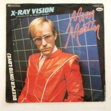 Discos de vinilo: MOON MARTIN – X-RAY VISION / DEEPER (INTO LOVE) GERMANY,1982 CAPITOL RECORDS. Lote 276941813