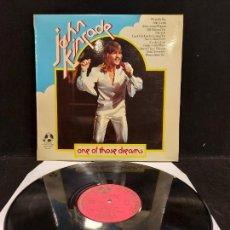 Discos de vinilo: JOHN KINCADE / ONE OF THOSE DREAMS / LP - PENNY FARTHING-1974 / MBC. ***/***. Lote 276945658