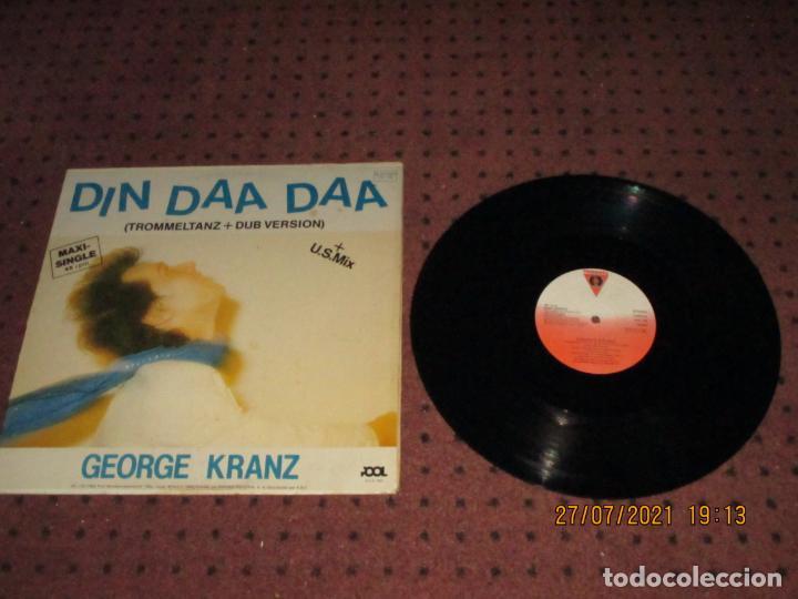 GEORGE KRANZ - DIN DAA DAA - MAXI - SPAIN - VICTORIA - REF VIC-118 - IBL - (Música - Discos de Vinilo - Maxi Singles - Disco y Dance)