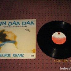 Discos de vinilo: GEORGE KRANZ - DIN DAA DAA - MAXI - SPAIN - VICTORIA - REF VIC-118 - IBL -. Lote 276946998