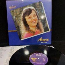 Discos de vinilo: YOLÈNE / AMOR / LP - ECB RECORDS-1987 / MBC. ***/*** LETRAS.. Lote 276947108