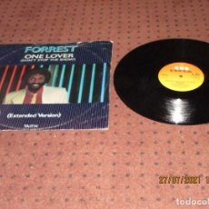 """Discos de vinilo: FORREST - ONE LOVER (DON'T STOP THE SHOW) (EXTENDED VERSION) (12"""") - MAXI - UK - CBS - IBL -. Lote 276947738"""